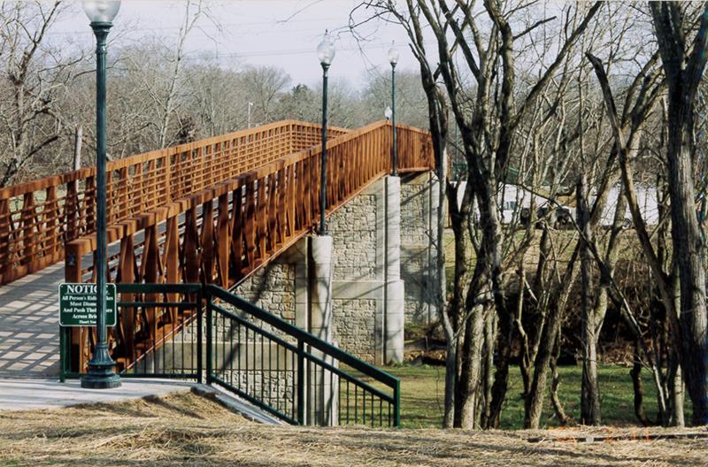 Pinkerton Park Pedestrian Bridge