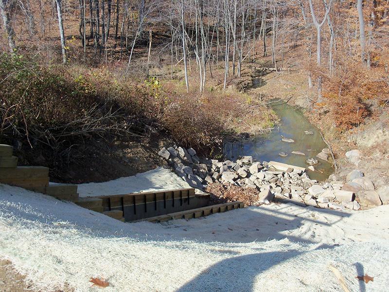 Carter Dam Spillway