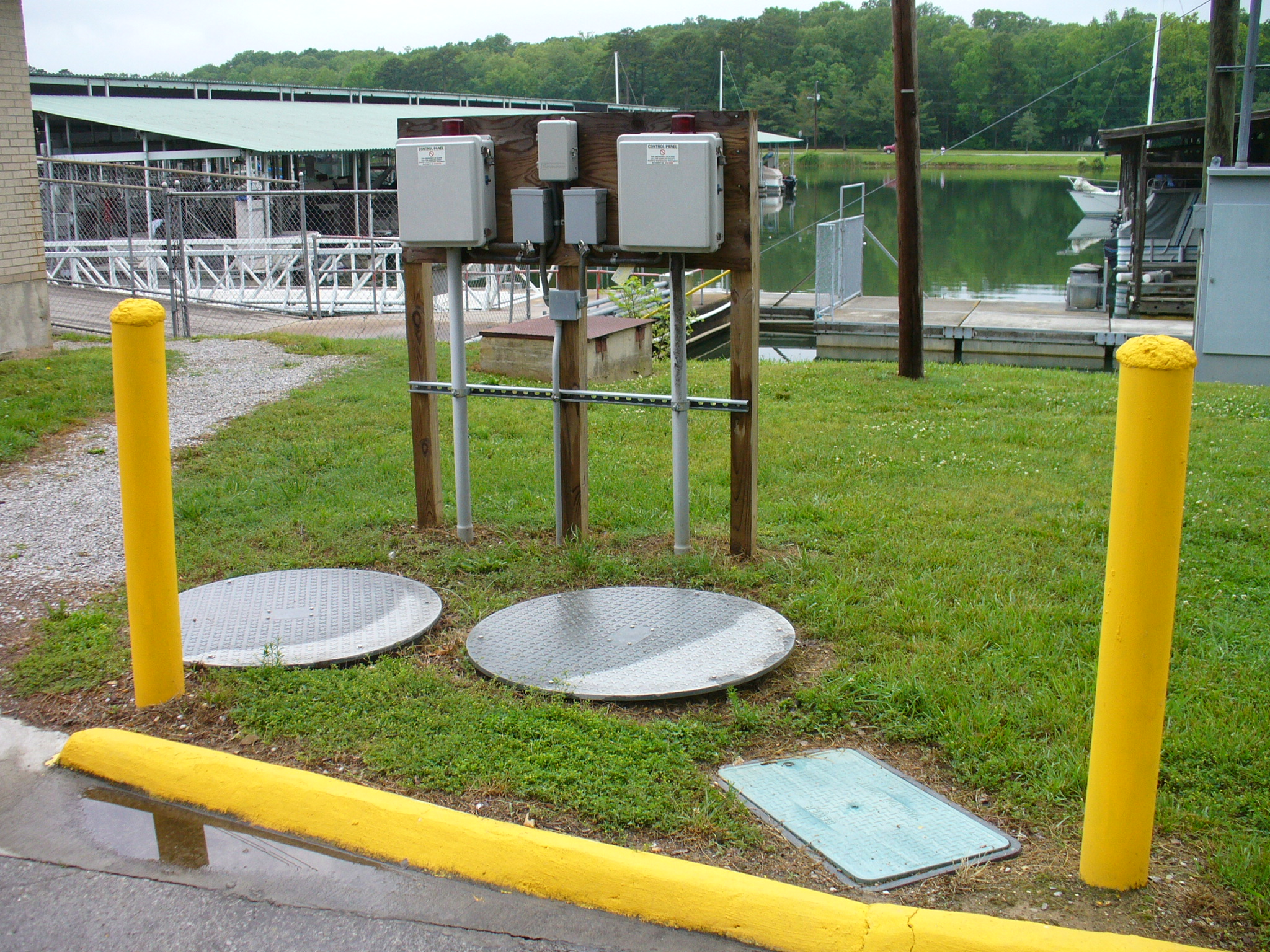 Harrison Bay State Park Sewer System