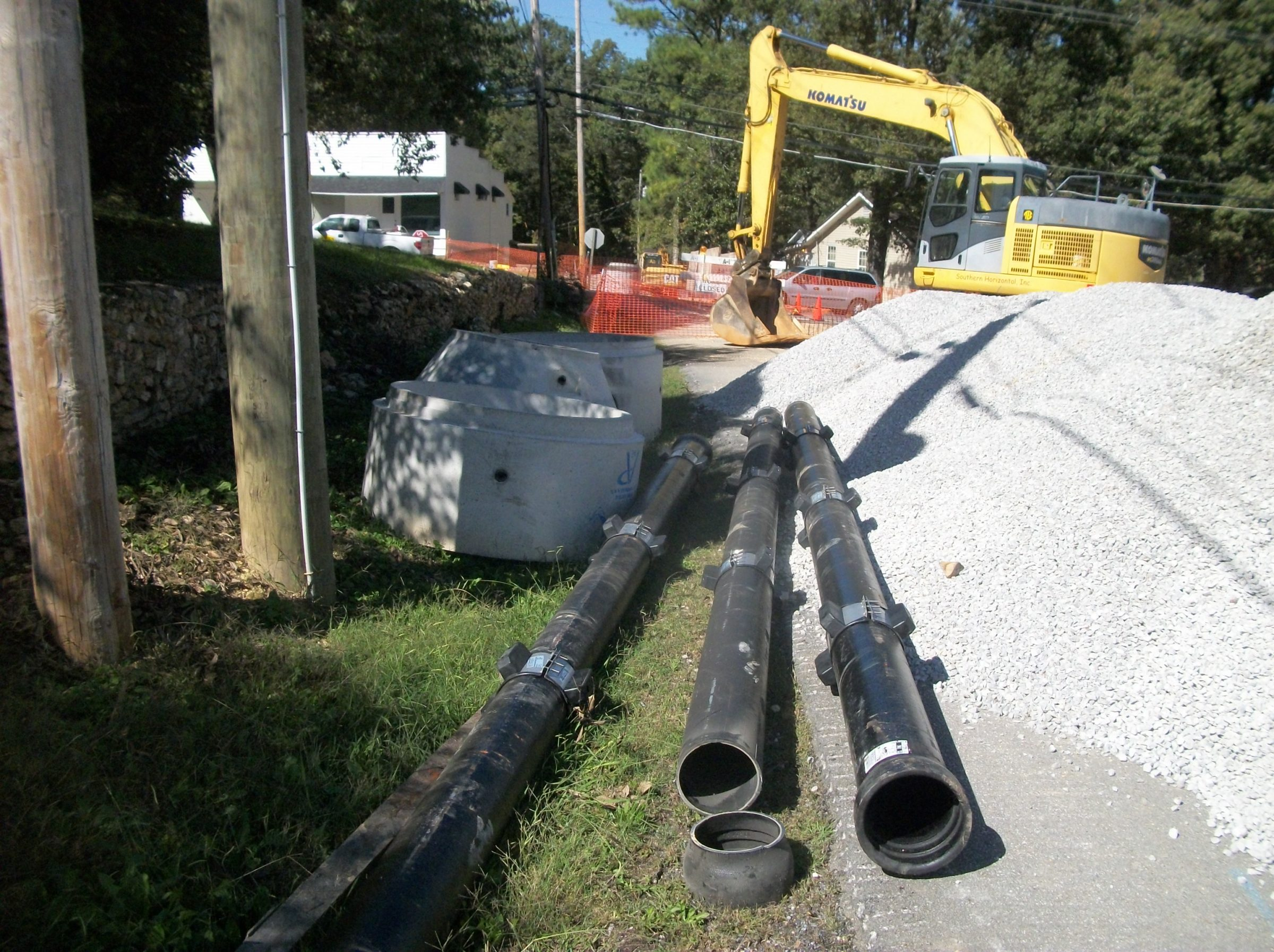 Lakeview Area Sewer Installation Projects